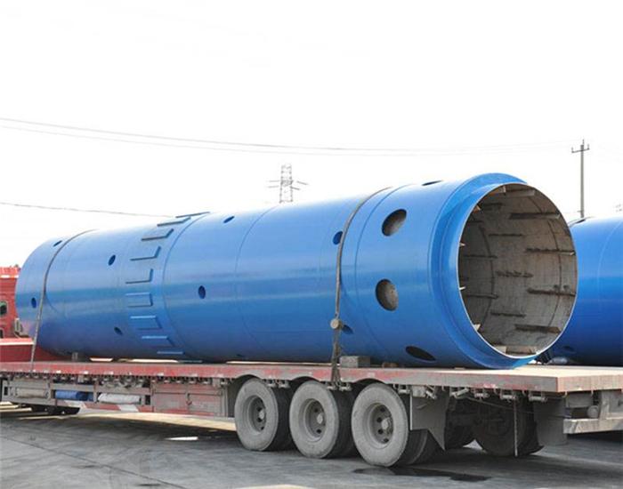 郑州客户订购的水泥回转窑现场案例